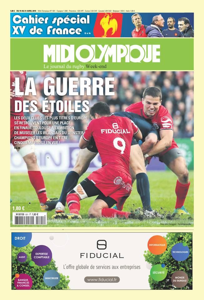 Midi Olympique Vert N°691 du 19 avril 2019 à télécharger sur iPad