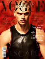 Une - Vogue Hommes International 19 mars 2014