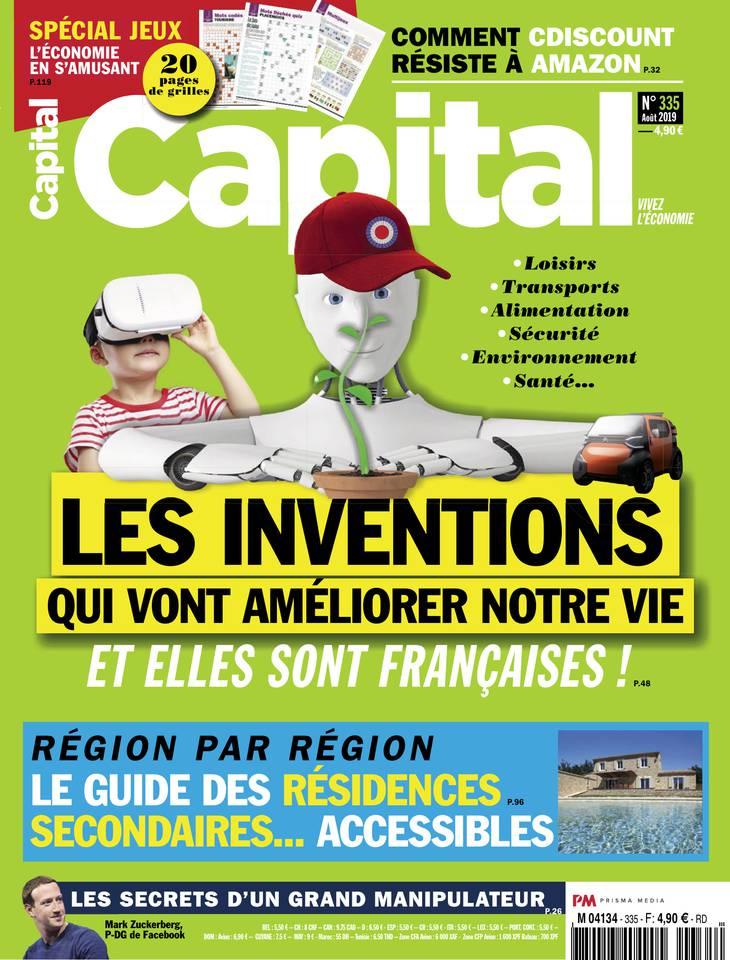 Abonnement à Capital Pas Cher avec le BOUQUET ÉCONOMIE ePresse.fr