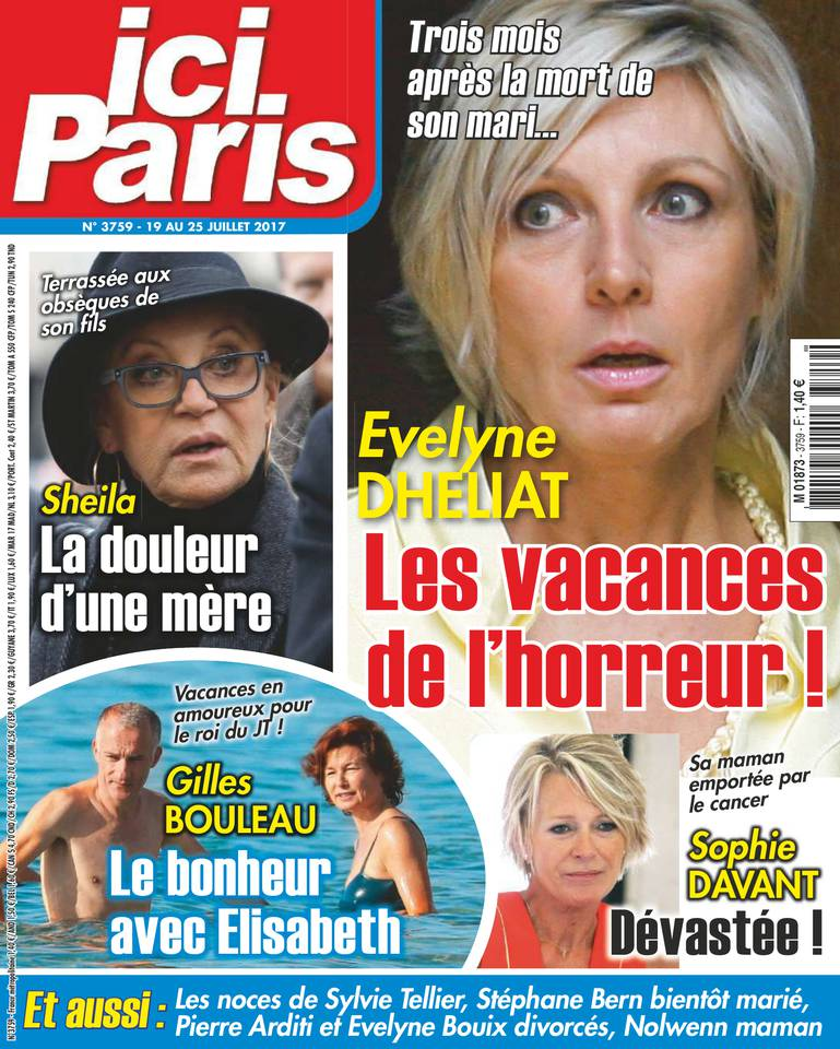 Ici Paris N°3759 du 19 juillet 2017 à télécharger sur iPad