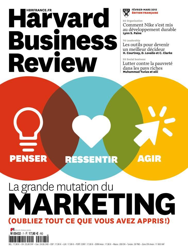 Harvard Business Review N°7 du 21 janvier 2015 à télécharger sur iPad