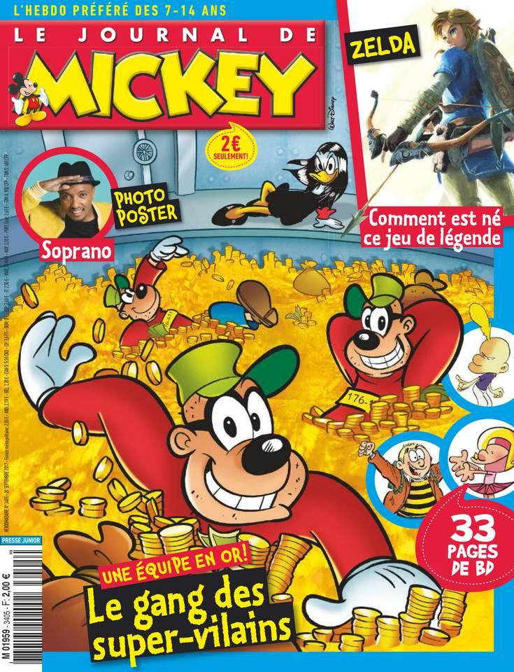 Abonnement Le Journal de Mickey Pas Cher avec le BOUQUET ePresse.fr