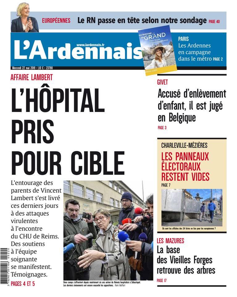 L'Ardennais du 22 mai 2019