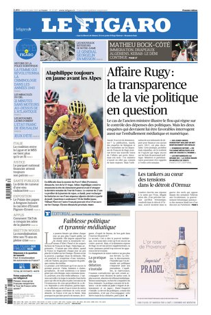 Le Figaro - 22/07/2019 |