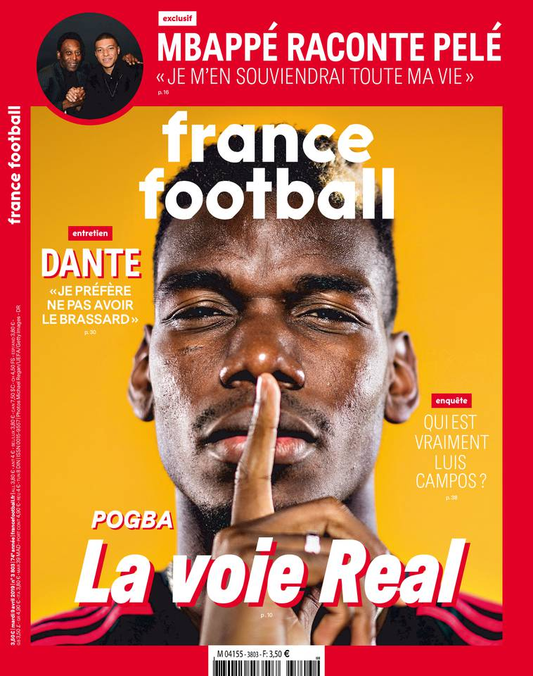 France Football du 09 avril 2019 à télécharger sur iPad