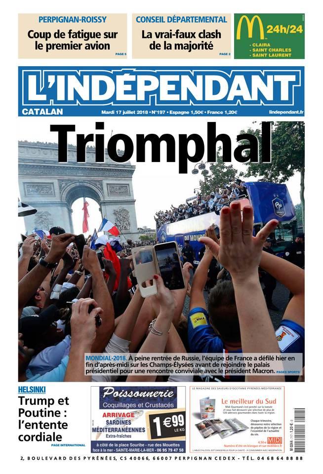 Abonnement L'Indépendant Pas Cher avec BOUQUET INFO ePresse.fr