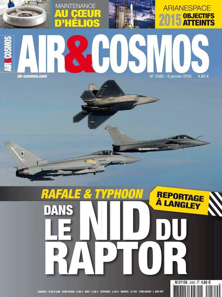 Air & Cosmos N°2482 du 08 janvier 2016 à télécharger sur iPad