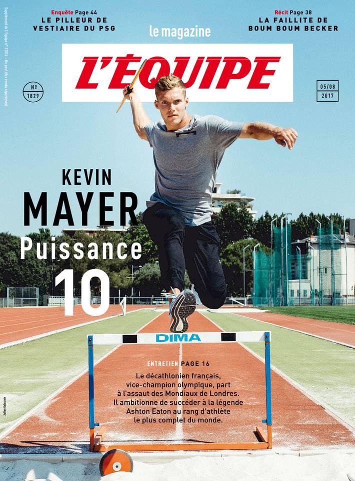 Magazine L'Équipe du 04 août 2017 à télécharger sur iPad