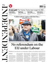 Une - The Independent 12 mars 2014