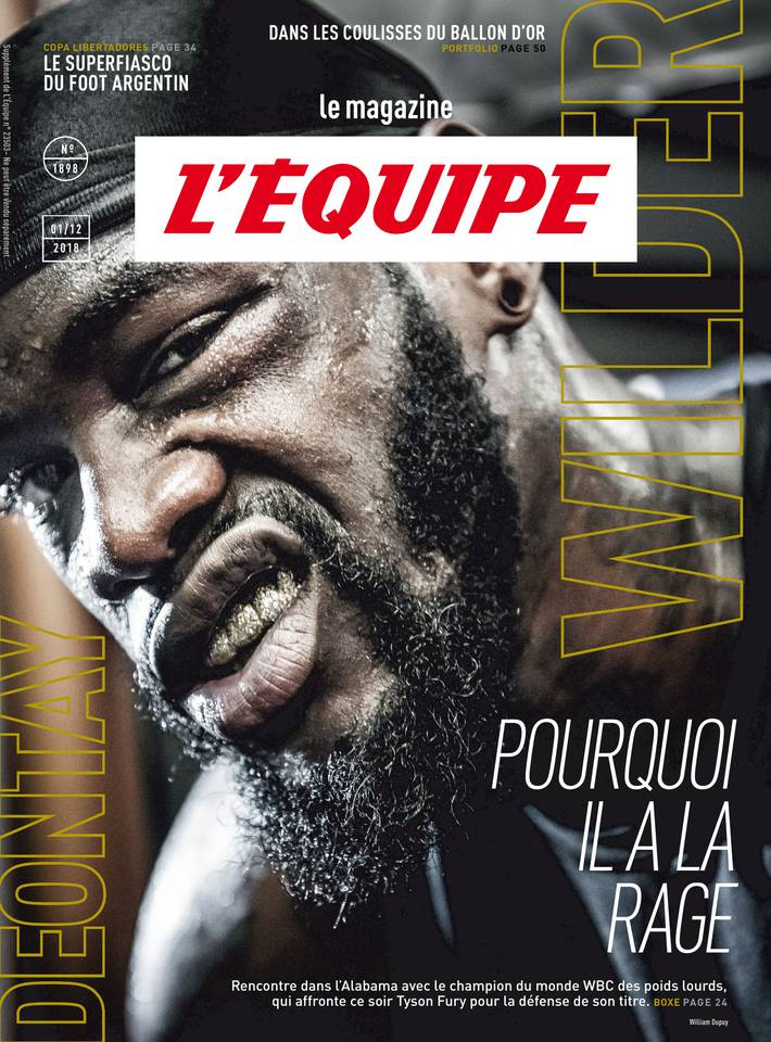 Le magazine L'Équipe du 30 novembre 2018 à télécharger sur iPad