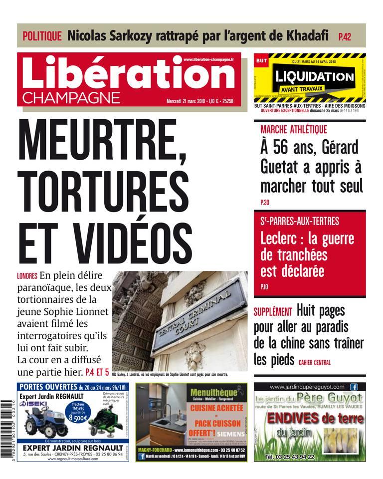 Liberation Champagne du 21 mars 2018