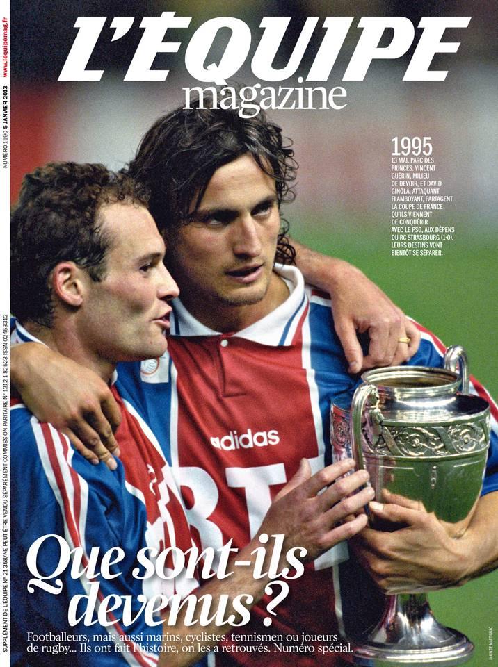 Le magazine L'Équipe du 05 janvier 2013 à télécharger sur iPad