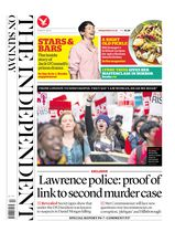 Une - The Independent on Sunday 09 mars 2014