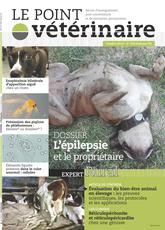 Couverture du dernier numero du Point Vétérinaire Rural