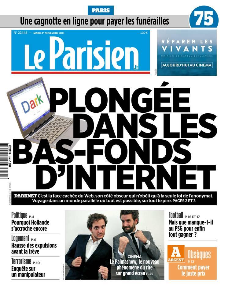 Le Parisien du 01 novembre 2016 à télécharger sur iPad
