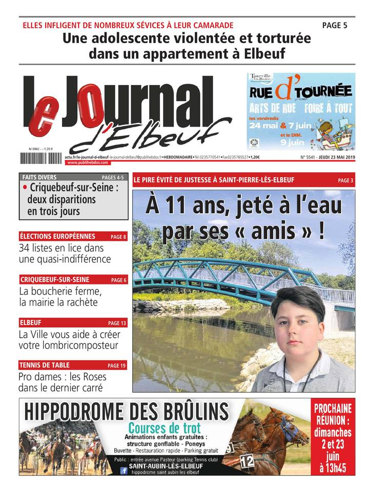 Le Journal d'Elbeuf du 23 mai 2019