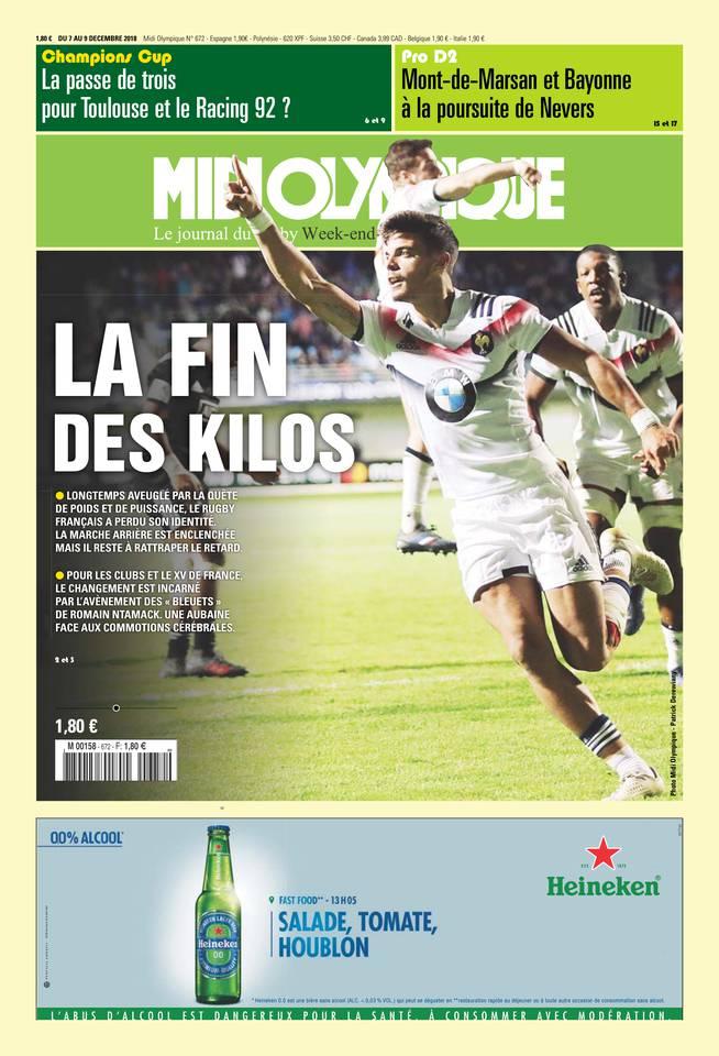 Abonnement Midi Olympique Pas Cher avec le BOUQUET SPORT ePresse.fr