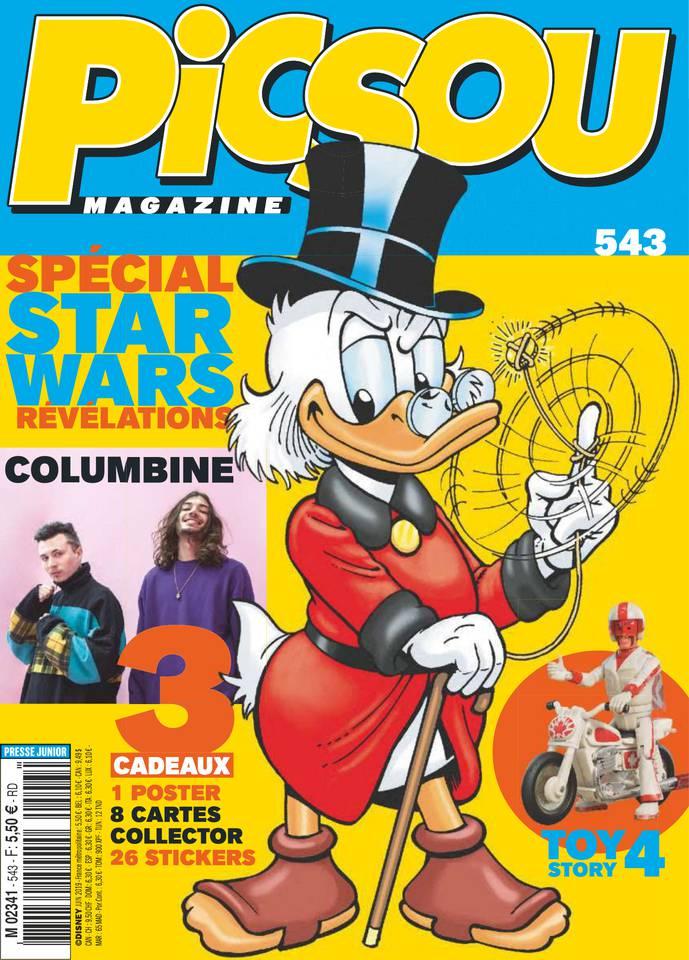 Picsou Magazine du 29 mai 2019