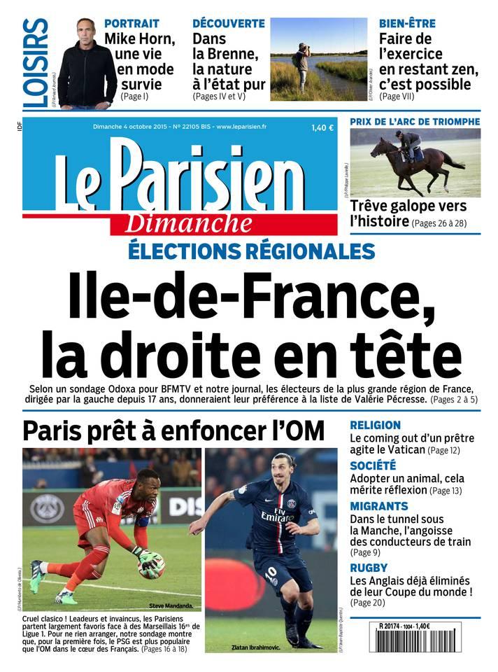 Le Parisien - 04/10/2015  