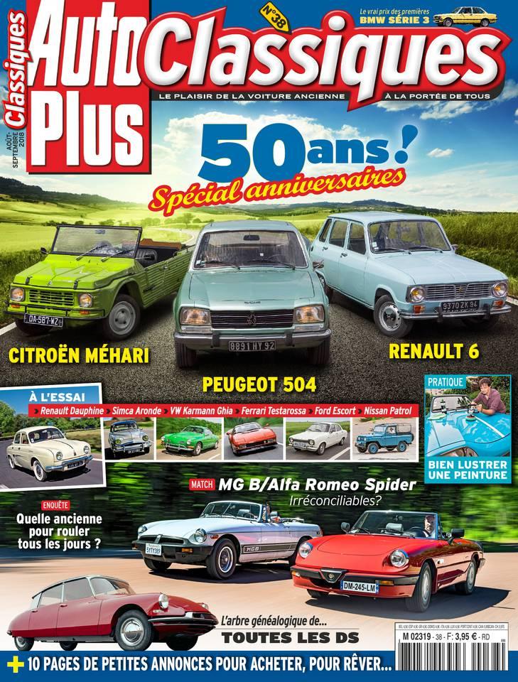 Abonnement Auto Plus Classiques Pas Cher avec le BOUQUET ePresse.fr
