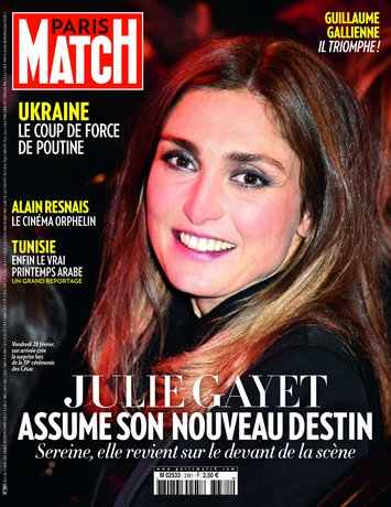 Une de «Paris Match»