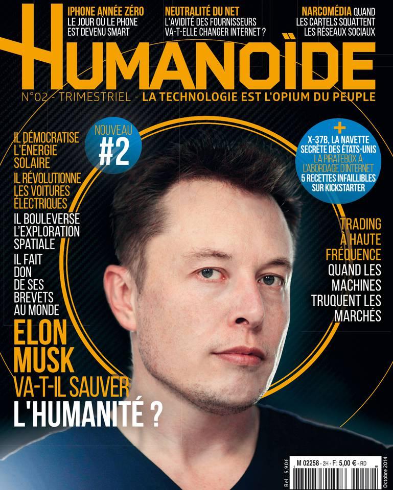 Humanoïde N°2 du 18 octobre 2014 à télécharger sur iPad