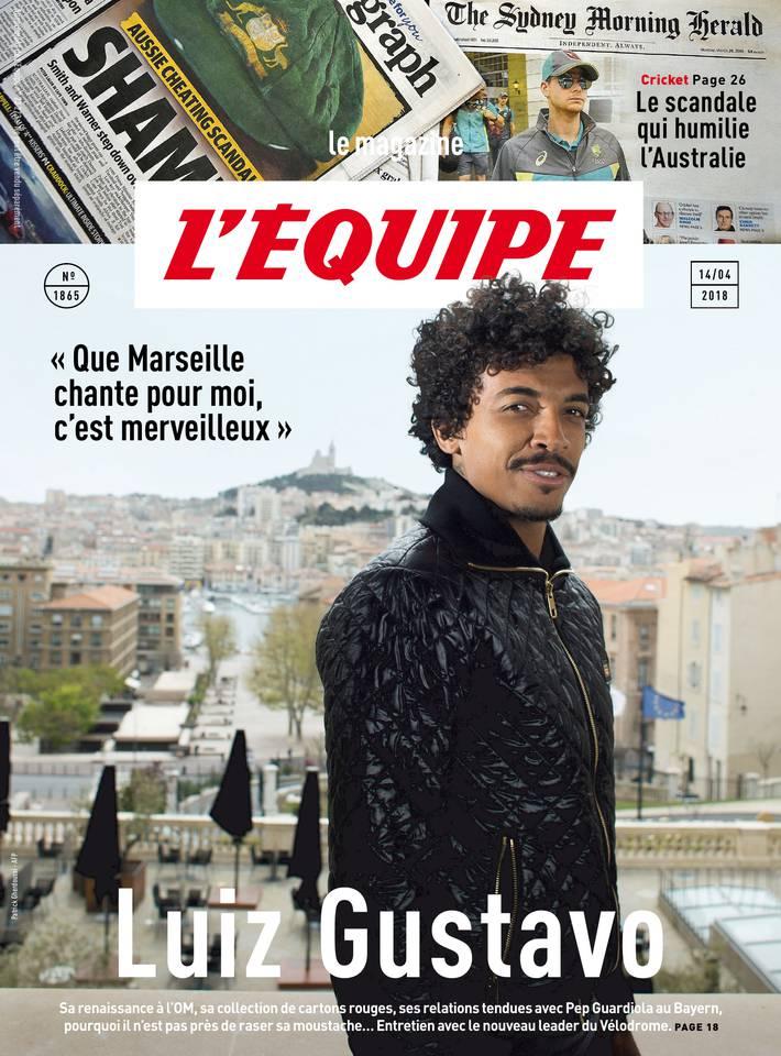 Magazine L'Équipe du 13 avril 2018 à télécharger sur iPad