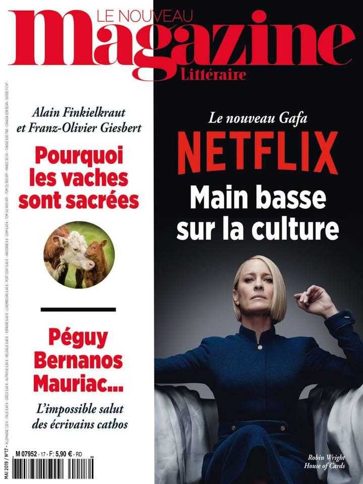 Le Magazine Littéraire N°17 du 25 avril 2019 à télécharger sur iPad