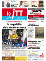 Une - Le Journal Tournon-Tain 17 avril 2014