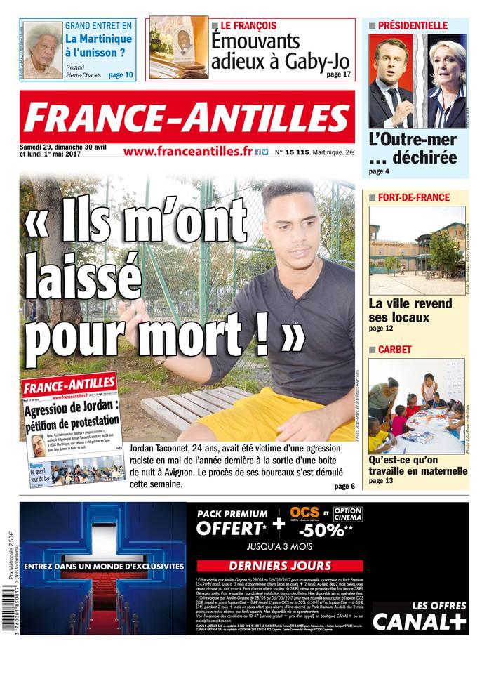 Abonnement France-Antilles Martinique Pas Cher avec le BOUQUET ePresse.fr