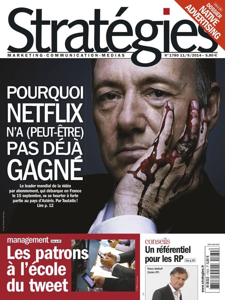 Stratégies N°1780 du 11 septembre 2014 à télécharger sur iPad