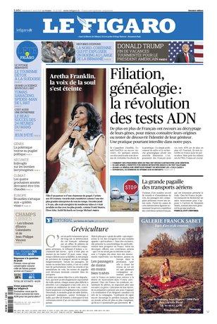 Le Figaro - 17/08/2018  