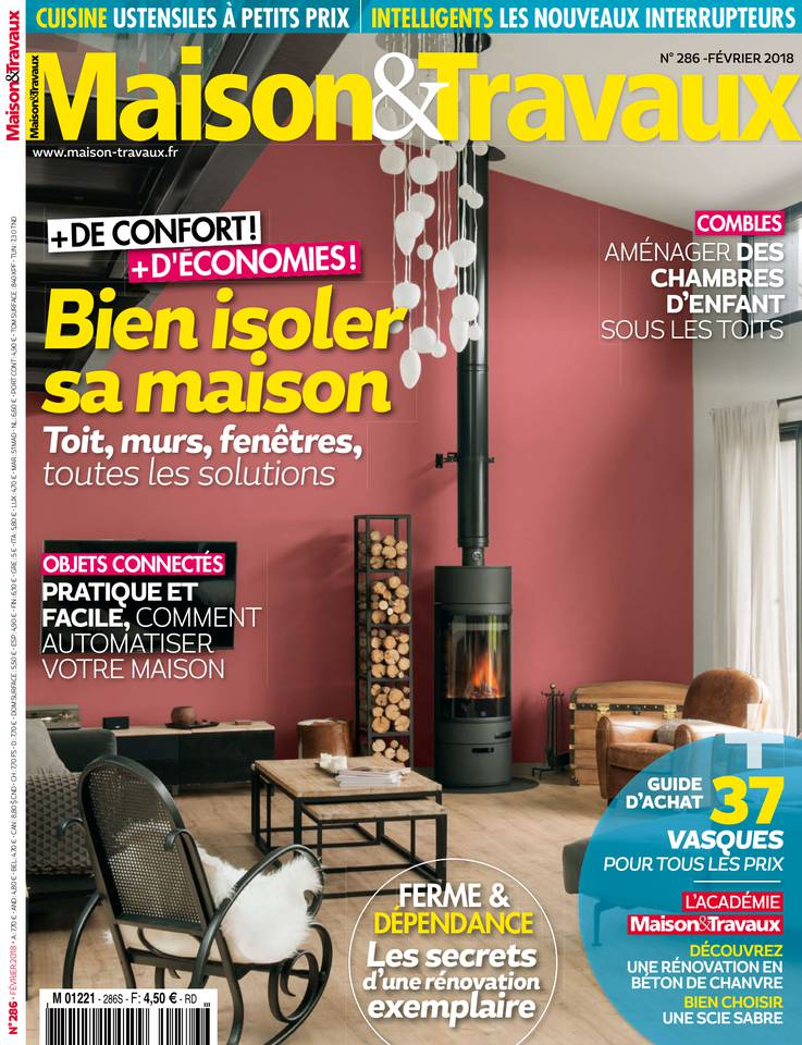 maison et travaux n 286 du 19 janvier 2018 t l charger. Black Bedroom Furniture Sets. Home Design Ideas