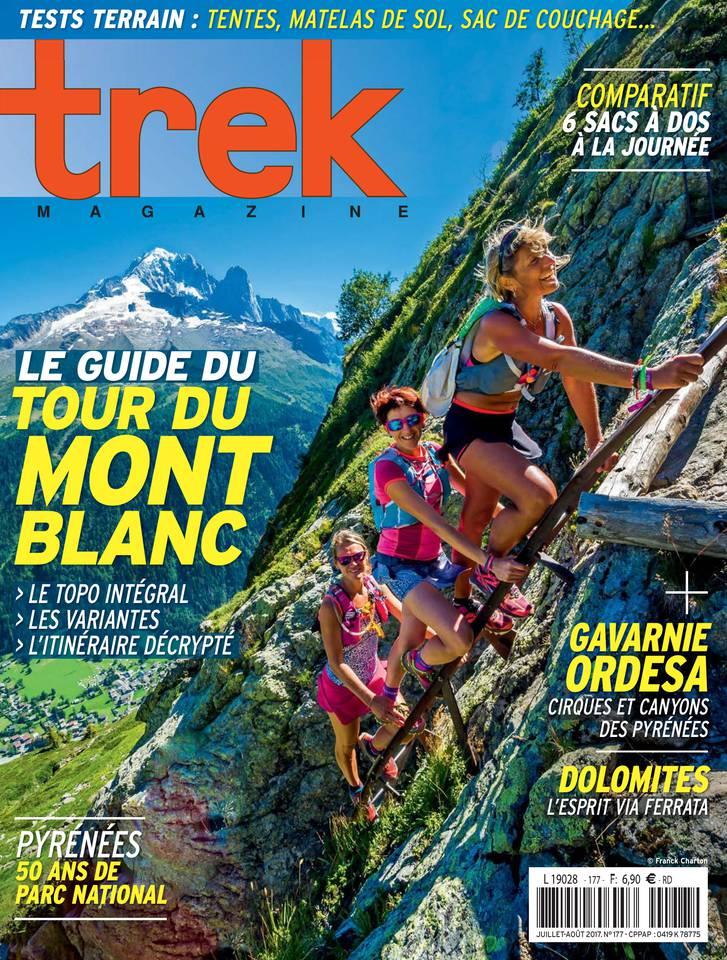 Trek Magazine N°177 du 01 juillet 2017 à télécharger sur iPad