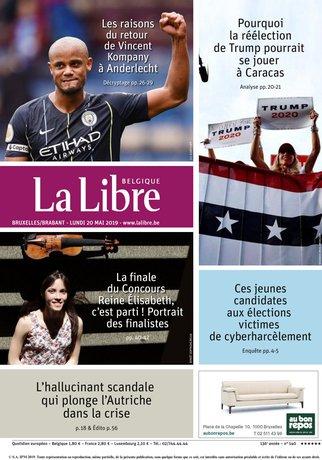 La Libre Belgique - 20/05/2019  