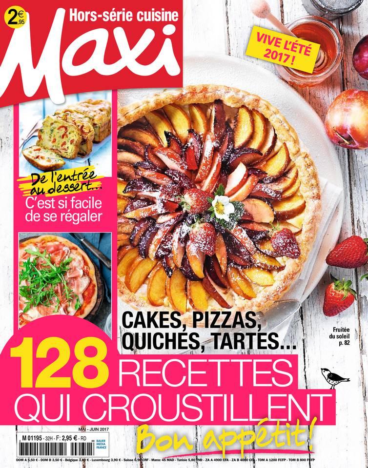 Abonnement à MAXI HORS-SERIE CUISINE Pas Cher avec le BOUQUET ePresse.fr