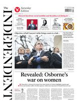 Une - The Independent 08 mars 2014