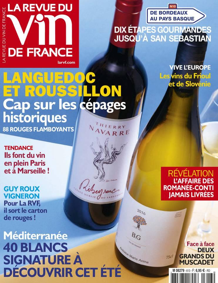 Abonnement Revue du Vin de France Pas Cher avec le BOUQUET ePresse.fr