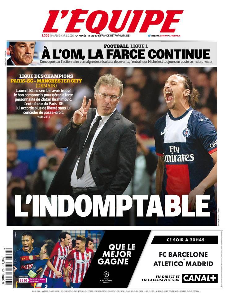 Abonnement à L'Équipe Pas Cher avec le BOUQUET SPORT ePresse.fr