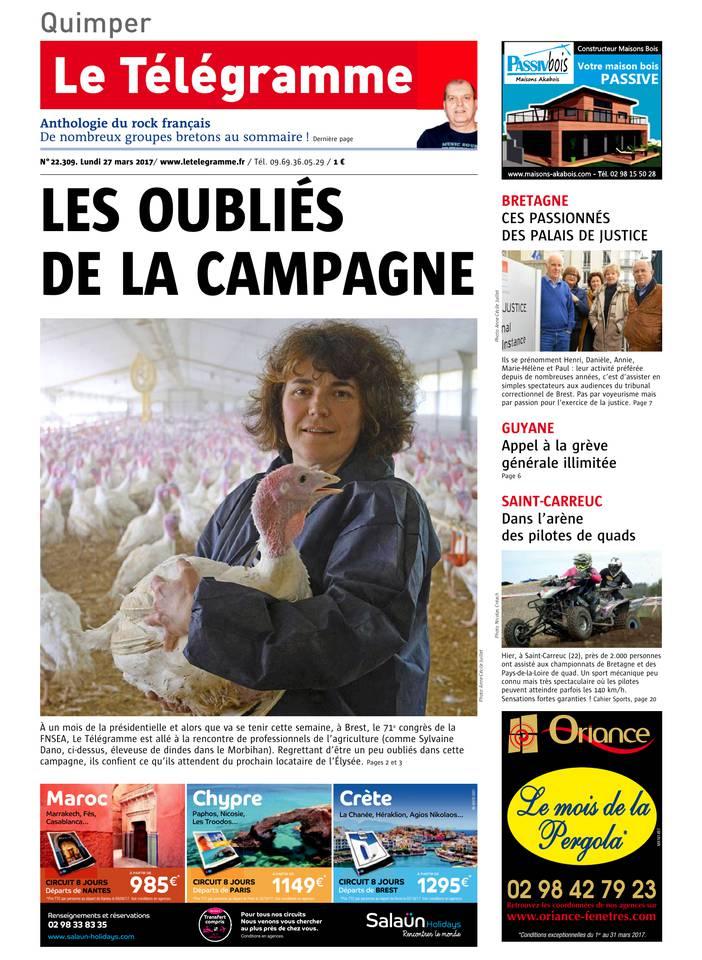Abonnement Le Télégramme Pas Cher avec BOUQUET INFO ePresse.fr
