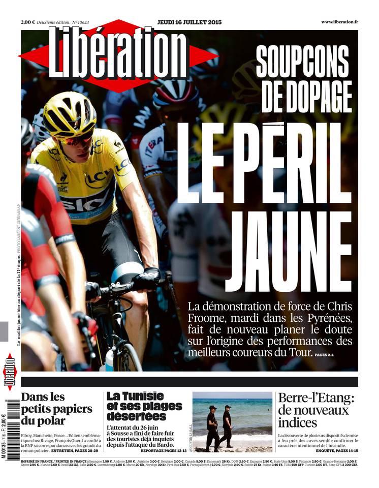 Libération du jeudi 16 juillet 2015 [HQ]