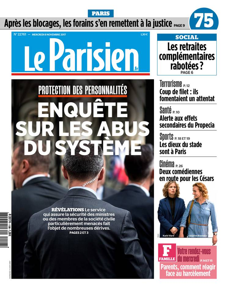 le parisien du 08 novembre 2017 t l charger sur ipad. Black Bedroom Furniture Sets. Home Design Ideas