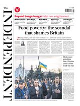 Une - The Independent 16 avril 2014