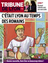 Une - Tribune de Lyon 10 avril 2014