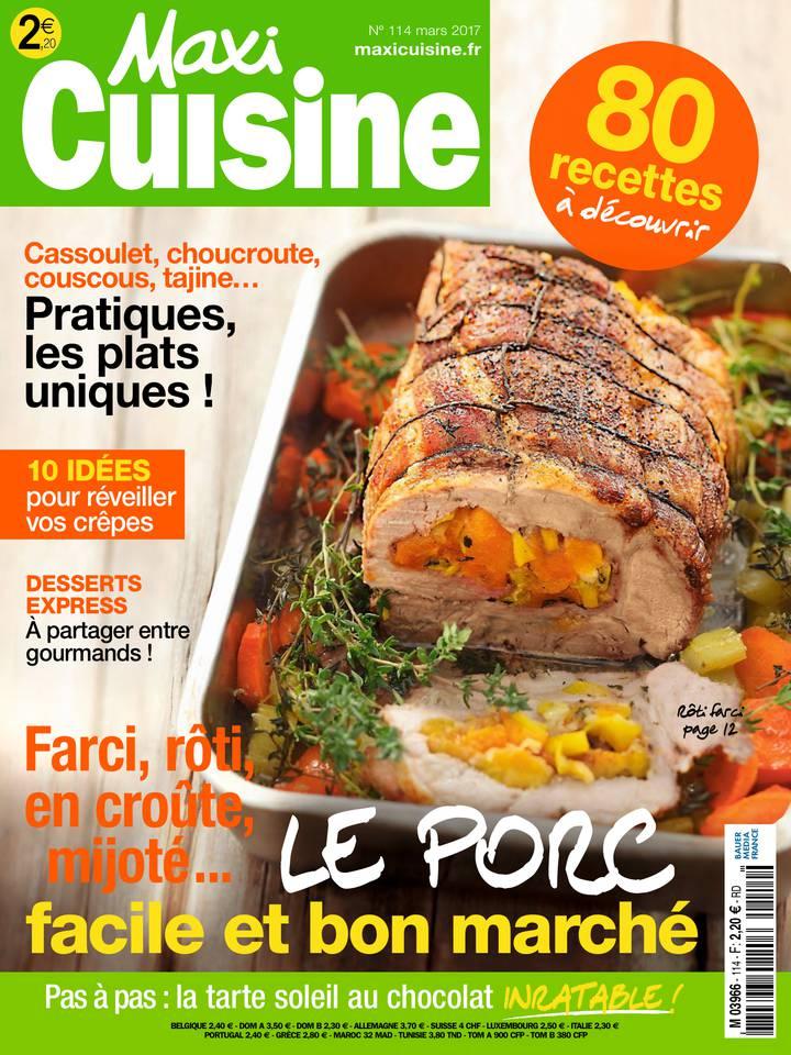 Abonnement à MAXI CUISINE Pas Cher avec le BOUQUET ePresse.fr