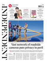 Une - The Independent 19 avril 2014