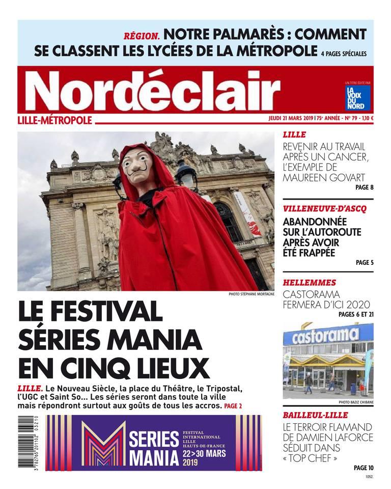 Nord Eclair - Lille du 21 mars 2019