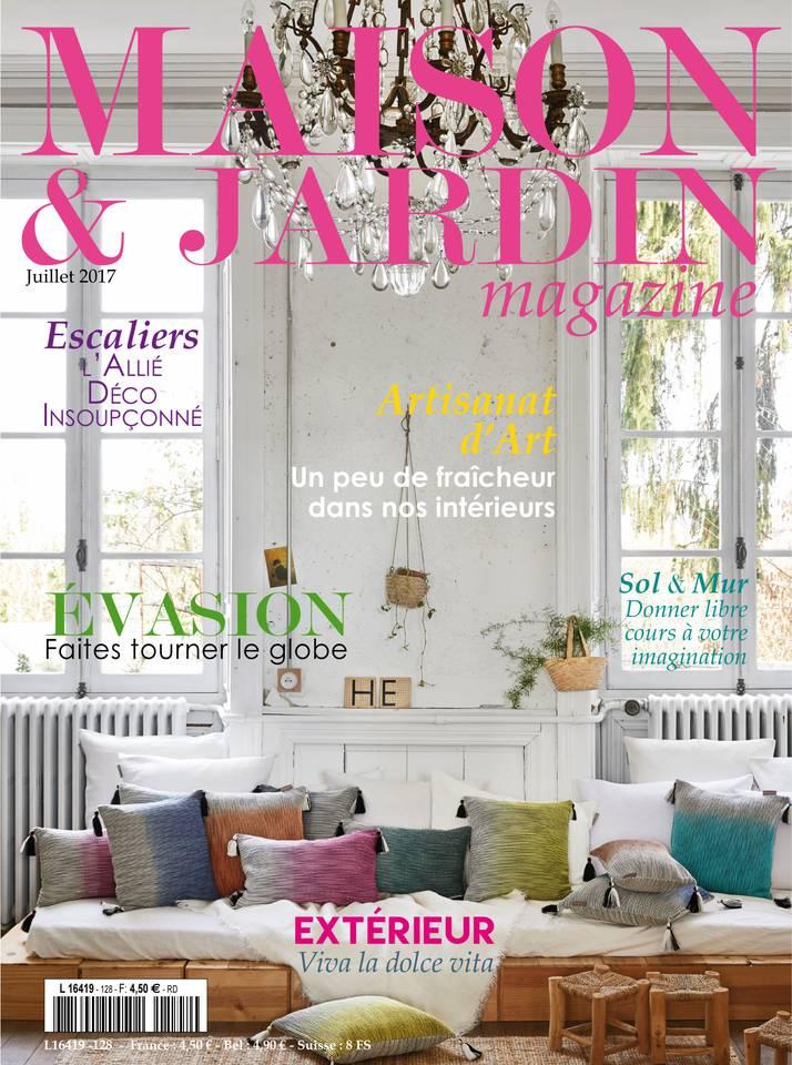 maison et jardin magazine du 10 juillet 2017. Black Bedroom Furniture Sets. Home Design Ideas