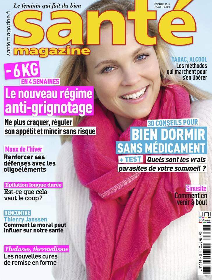 Santé Magazine N°458 du 03 janvier 2014 à télécharger sur iPad