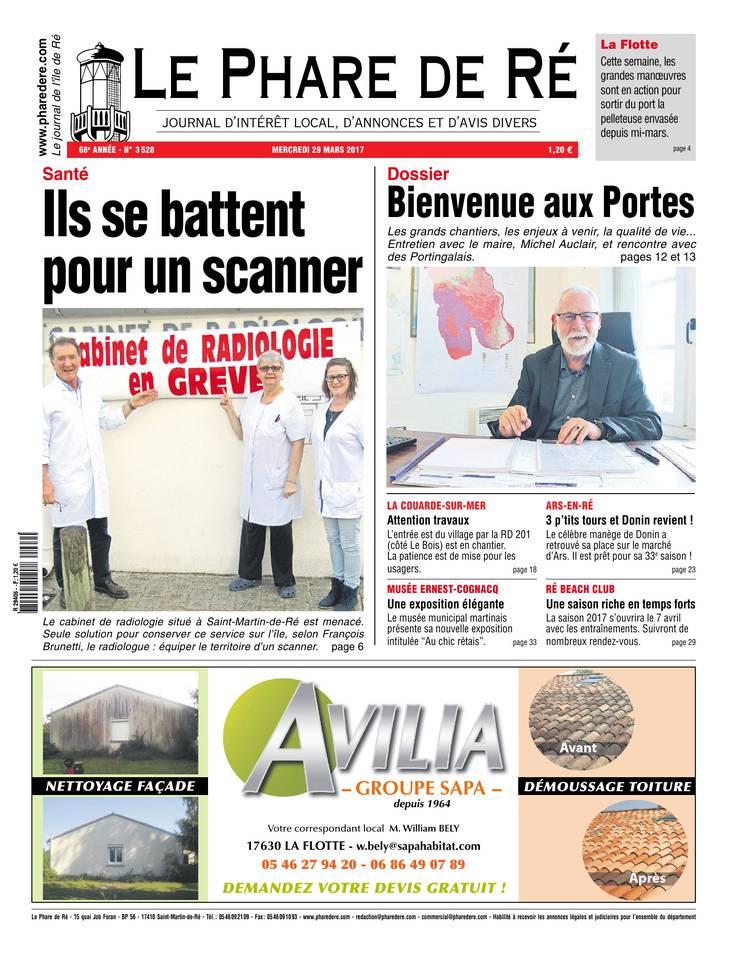 Abonnement Le Phare de Ré Pas Cher avec le BOUQUET INFO ePresse.fr